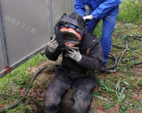鄂州市洋瀾湖鋼管樁切割拆除